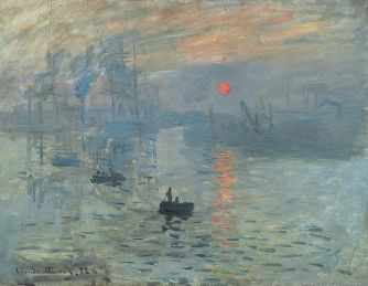 monet sunrise