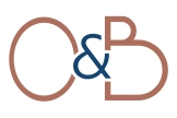 O&B Logo White Rust and Blue Crop